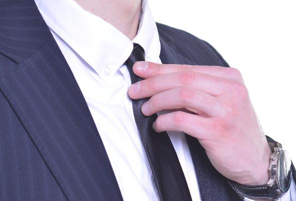 ネクタイ着用